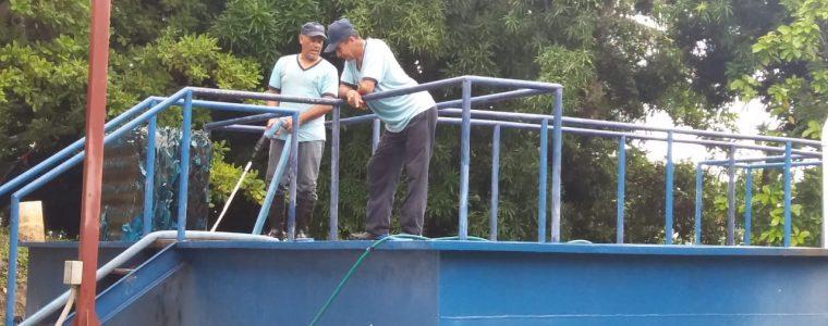 PLANTA DE SAN CARLOS AFECTADA POR LAS ÚLTIMAS LLUVIAS