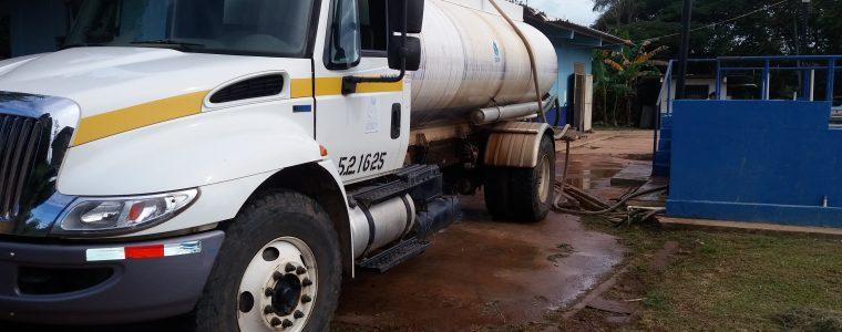 IDAAN refuerza el abastecimiento de agua potable en varios sectores de Pocrí y Aguadulce.