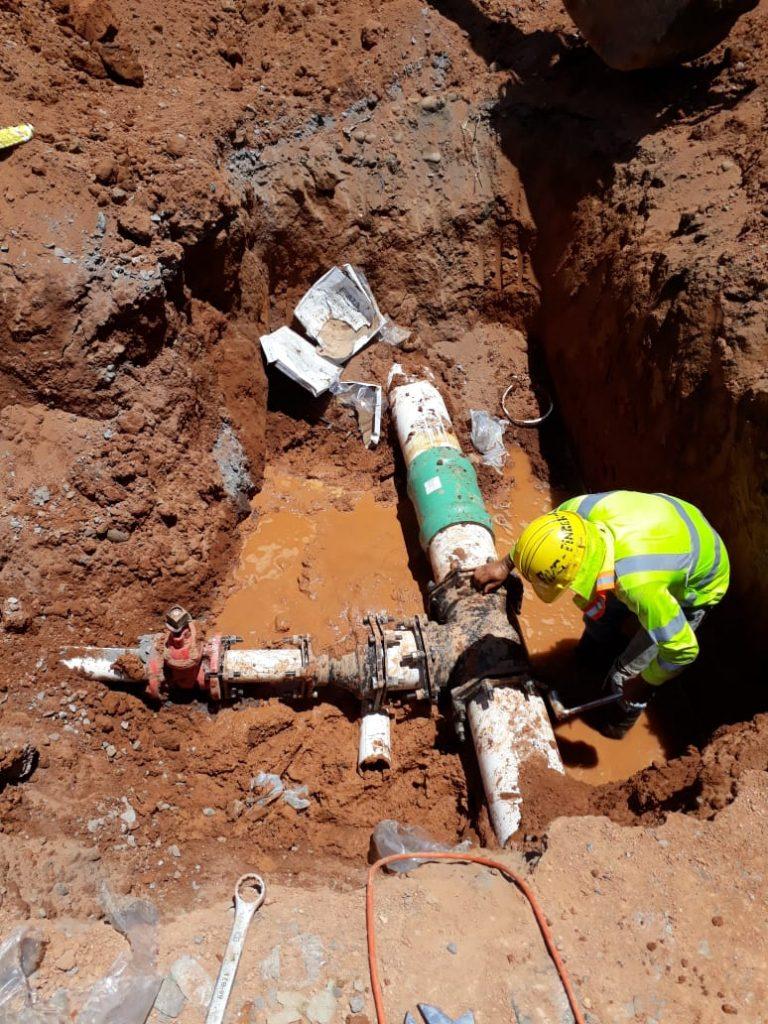 IDAAN continúa con los trabajos de interconexiones como parte del proyecto David Fase II