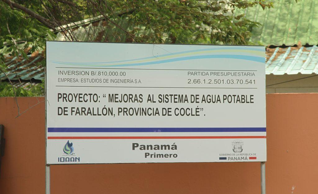 En Farallón el suministro de agua potable será continuo y más eficiente con el proyecto de mejoras al sistema de abastecimiento que ejecuta el IDAAN.