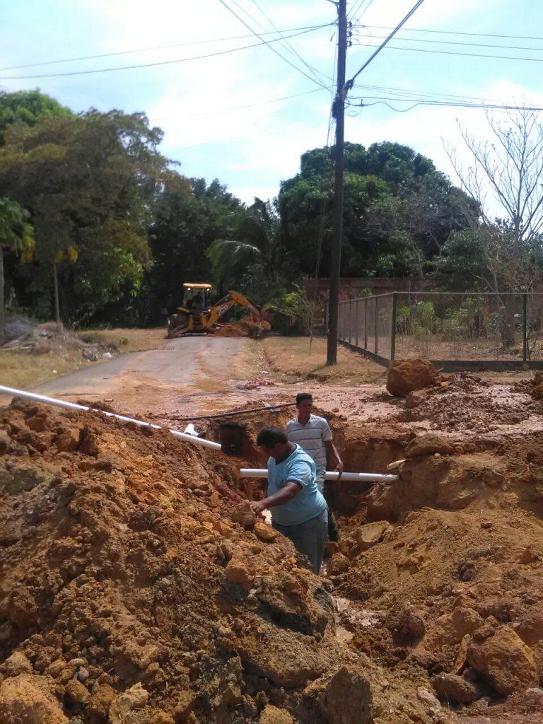 IDAAN en Coclé trabaja en la mejora de válvulas reguladoras.