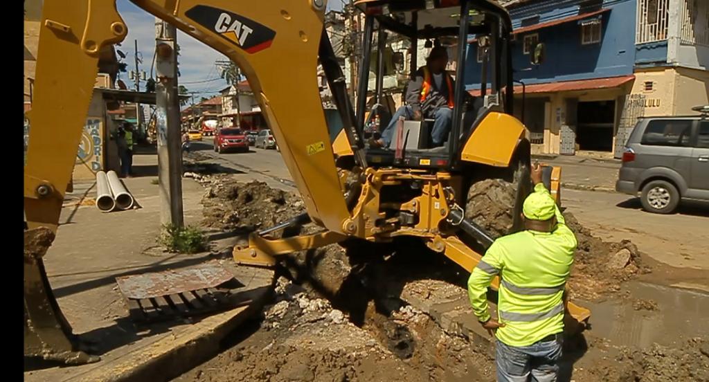 En Colón se realizarán trabajos de desvío de tuberías el sábado 23 de junio.