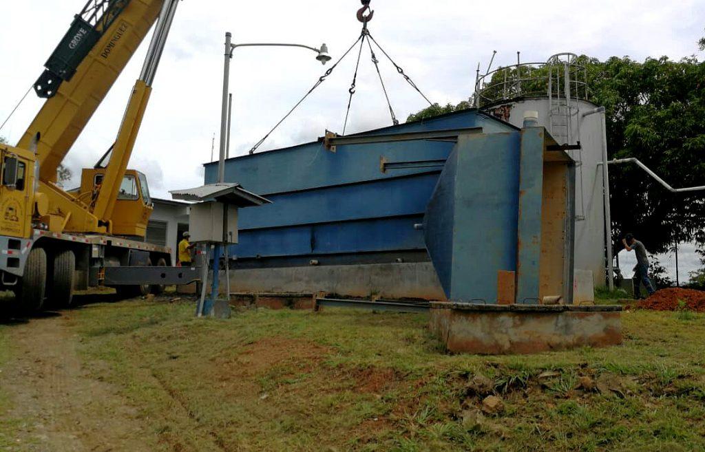 Nueva planta potabilizadora en Llano de Piedra en Macaracas mantiene un 60% de avance
