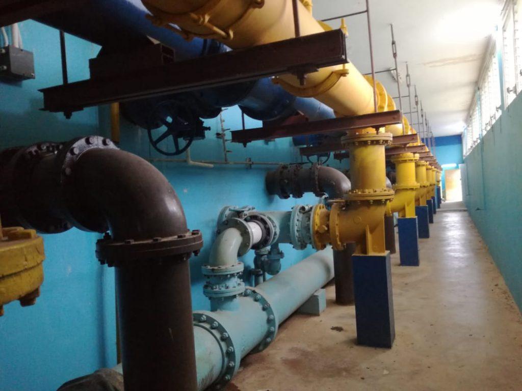Culminan trabajos programados para hoy en la toma de agua cruda en Chitré