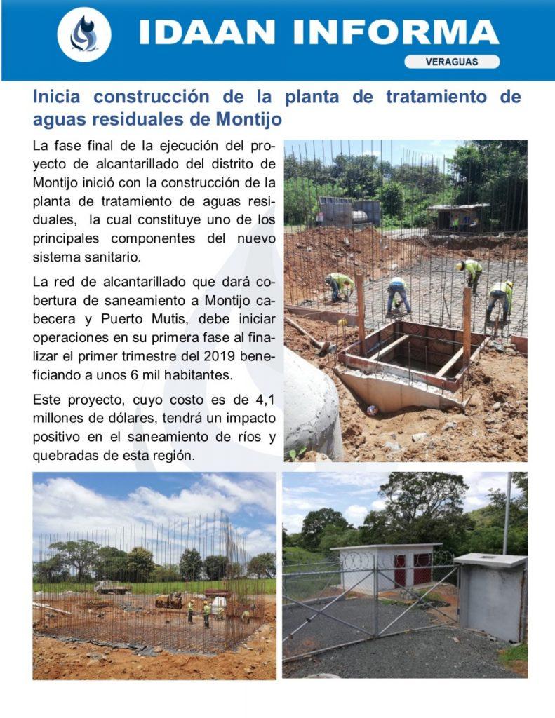 Inicia construcción de la planta de tratamiento de aguas residuales de Montijo