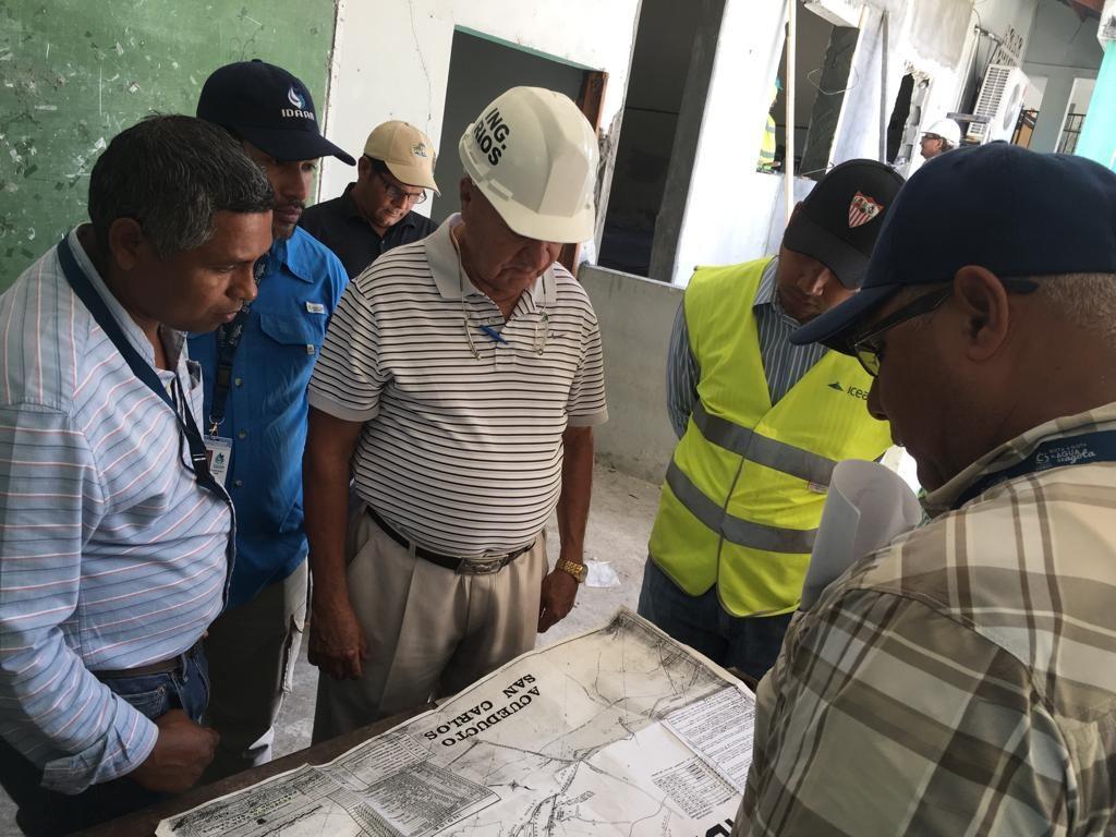 Autoridades del IDAAN se reúnen con personal de MEDUCA en Panamá Oeste