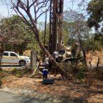 Perforación de nuevo pozo en Santa Isabel, Las Tablas
