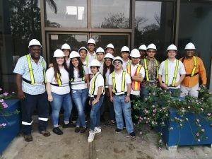 Estudiantes visitan la planta potabilizadora Federico Guardia Conte de Chilibre