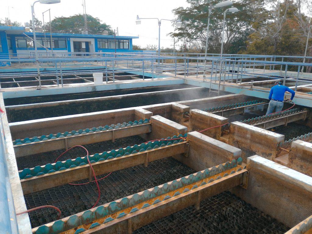 Hoy martes se realiza mantenimiento rutinario en planta potabilizadora Roberto Reyna de Chitré