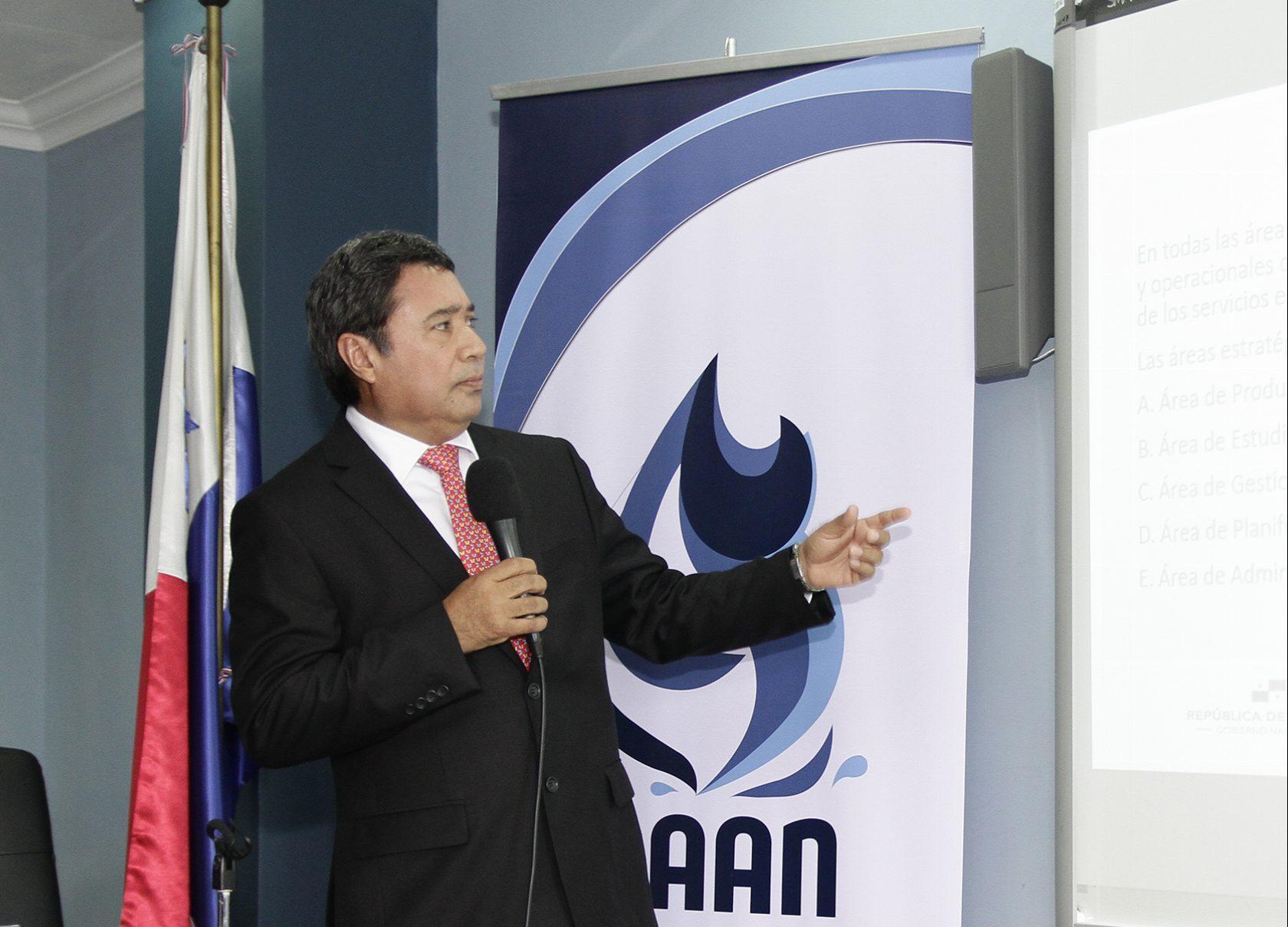 Presentación del plan de trabajo del director Ejecutivo del IDAAN.