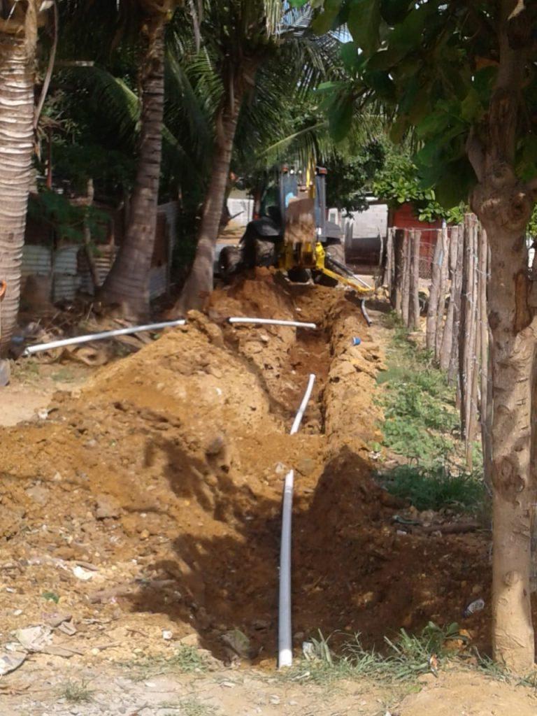 IDAAN realizó trabajos de extensión  de líneas en Barriada  Soberanía en Chitré
