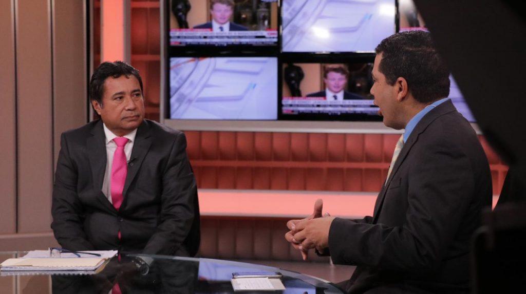 Ing. Guillermo Torres, presenta proyectos del IDAAN durante entrevista en Sertv Noticias.