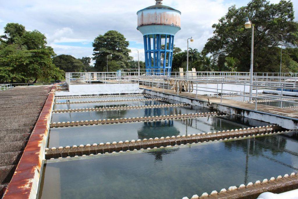 Por mantenimiento preventivo la planta potabilizadora de Los Algarrobos disminuirá su producción.