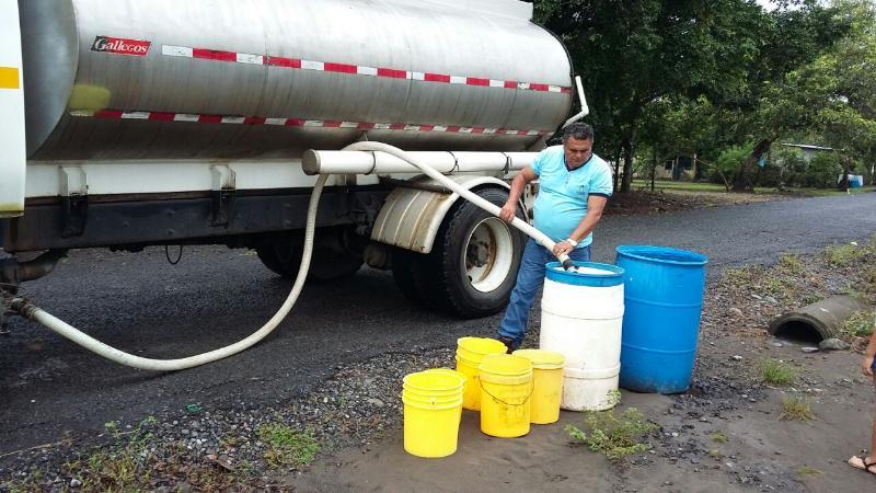 Horario de atención por camiones cisternas será ampliado en sectores de Panamá Oeste