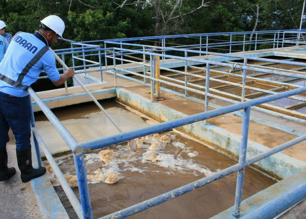 El próximo 12 de diciembre se realizarán trabajos de mantenimiento en la planta potabilizadora de Los Algarrobos