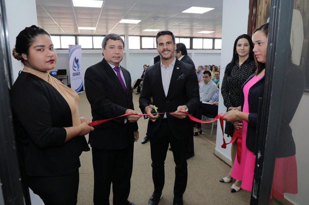 Anfiteatro Dr. Sergio González Ruiz en edificio sede del IDAAN es reinaugurado.