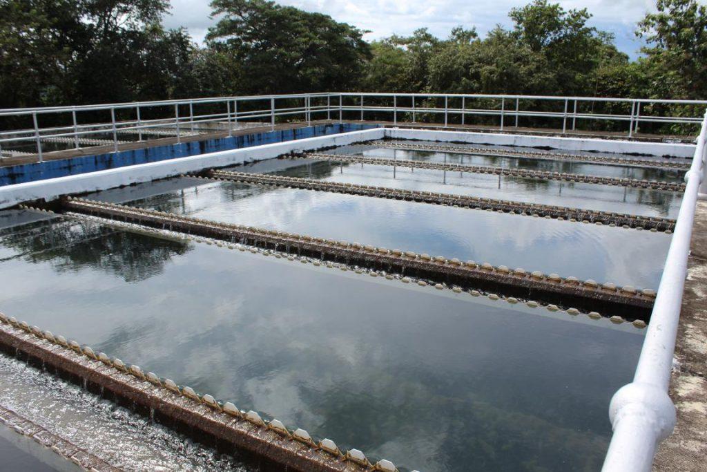 Continúan trabajos de rehabilitación en la planta potabilizadora de Los Algarrobos