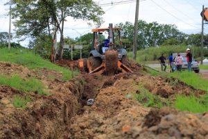 Continúan trabajos de interconexión para optimizar suministro en Las Villas de Arraiján.