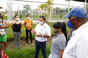 Director del IDAAN busca solucionar el suministro irregular en Las Villas de Arraiján