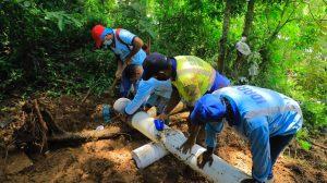 Con personal reducido por Covid -19 el IDAAN responde a las necesidades en las comunidades. Panamá Oeste continúa con operativos de reparación de incidencias.