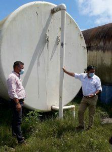 Fortaleceremos suministro en Caimitillo recuperando tanques y perforando pozos, asegura Director del IDAAN.