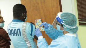 IDAAN lleva a cabo jornada de vacunación para colaboradores de la Gerencia Metropolitana y edificio sede de Vía Brasil.