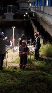 Culminan con éxito trabajos en la Planta Potabilizadora de Chilibre realizados la noche de este sábado.