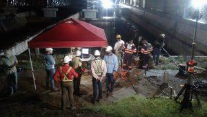 El IDAAN culminó con éxito la primera fase de mantenimiento preventivo del tanque de agua tratada de la planta de Chilibre