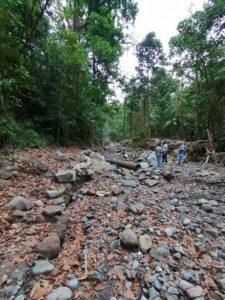 El IDAAN en Chiriquí trabaja en la construcción de la toma provisional de Chorro Blanco