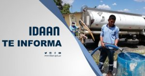 IDAAN reactiva el reparto de agua a través de cisterna en Arraiján