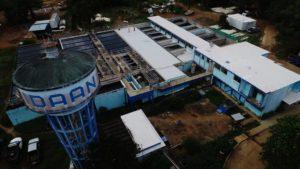 Continúan los trabajos del Proyecto de Rehabilitación de la Planta Potabilizadora Ciudad de David