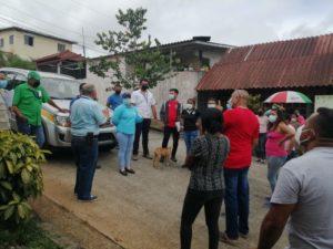 IDAAN se reúne con residentes de Brisas de San Pablo en Panamá Norte