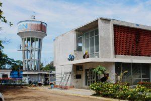 79 % de avance físico lleva el Proyecto de Rehabilitación de la Planta Potabilizadora Ciudad de David