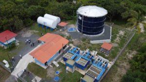Moradores de San Carlos reciben renovado sistema de abastecimiento