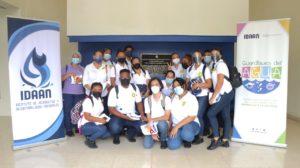 Estudiantes de la Universidad de Panamá, visitan Planta Potabilizadora Federico Guardia Conte.